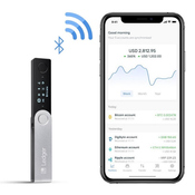 Ledger Nano X - Bluetooth Hardware Wallet - Limited Genesis Block Edition